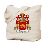 Thevenin Family Crest Tote Bag