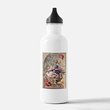 Flower Still Life by J Water Bottle