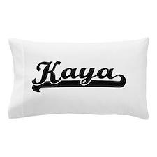 Kaya Classic Retro Name Design Pillow Case