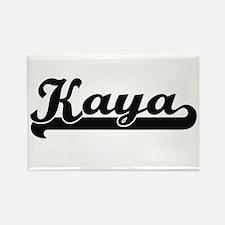 Kaya Classic Retro Name Design Magnets