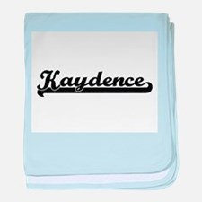 Kaydence Classic Retro Name Design baby blanket