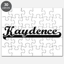 Kaydence Classic Retro Name Design Puzzle
