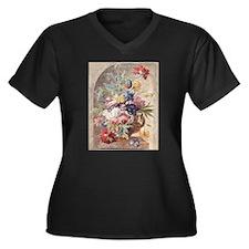 Flower Still Life by Jan van Huy Plus Size T-Shirt