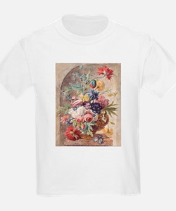 Flower Still Life by Jan van Huysum T-Shirt