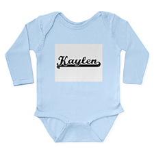 Kaylen Classic Retro Name Design Body Suit