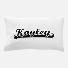 Kayley Classic Retro Name Design Pillow Case