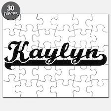 Kaylyn Classic Retro Name Design Puzzle