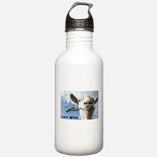 Weed Goat Sports Water Bottle
