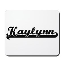 Kaylynn Classic Retro Name Design Mousepad