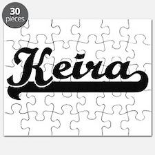 Keira Classic Retro Name Design Puzzle