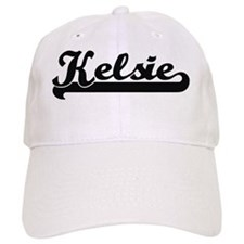 Kelsie Classic Retro Name Design Baseball Cap