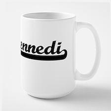 Kennedi Classic Retro Name Design Mugs