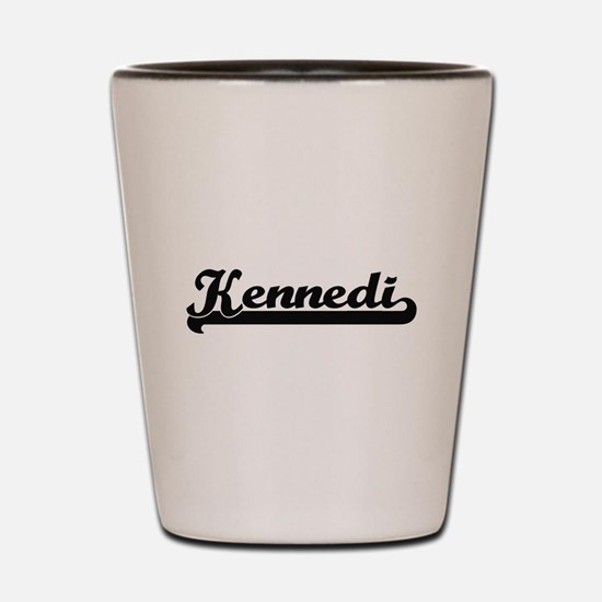 Kennedi Classic Retro Name Design Shot Glass