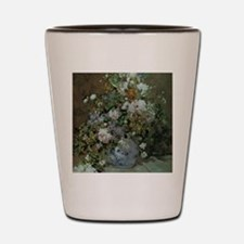 Spring Bouquet by Renoir Shot Glass
