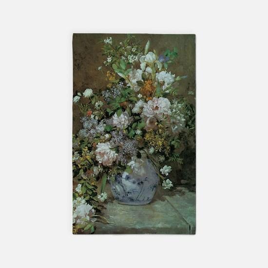 Spring Bouquet by Renoir Area Rug