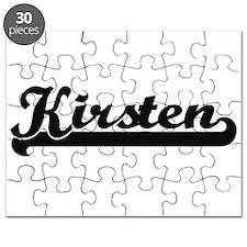 Kirsten Classic Retro Name Design Puzzle