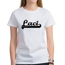 Laci Classic Retro Name Design T-Shirt