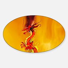 Flame Dragon Dancer Decal