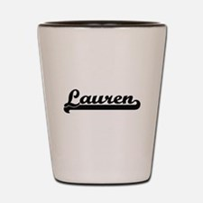 Lauren Classic Retro Name Design Shot Glass