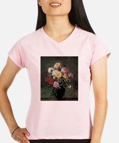 Floral Still Life by Herma Performance Dry T-Shirt