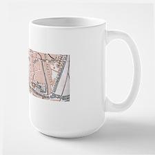 Vintage Map of Mechelen Belgium (1905) Mugs