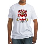Terrien Family Crest Fitted T-Shirt