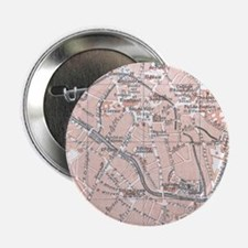 "Vintage Map of Mechelen Belgium (1905 2.25"" Button"