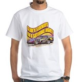 Dirt track Mens White T-shirts
