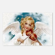 Heavenly Angel & Violin Postcards (Package of 8)