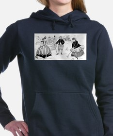 croquet art Women's Hooded Sweatshirt
