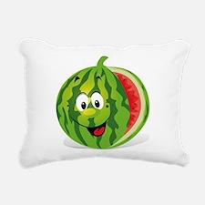 Watermelon Rectangular Canvas Pillow