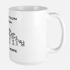 STICK FIGURE FAMILY - POSITION OPEN - M Mug