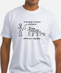STICK FIGURE FAMILY - POSITION OPEN - MOM T-Shirt