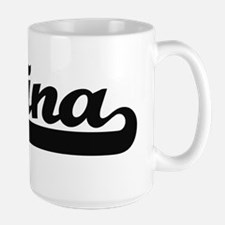 Lina Classic Retro Name Design Mugs