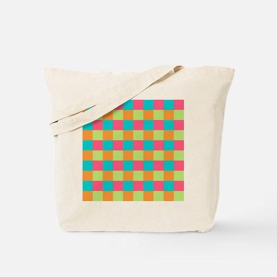 cubed colors Tote Bag