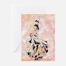 The Flamenco of Kali Sara Greeting Cards