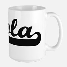 Lola Classic Retro Name Design Mugs