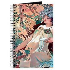 Mucha Autumn Grapes Journal
