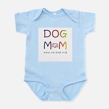 Dog Mom Bag Infant Creeper