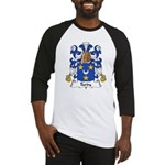 Tardy Family Crest Baseball Jersey