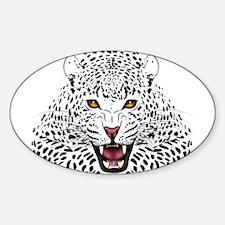 Fierce Leopard Decal