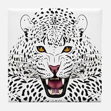 Fierce Leopard Tile Coaster