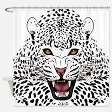 Fierce Leopard Shower Curtain