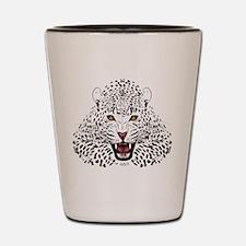 Fierce Leopard Shot Glass