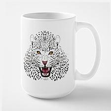 Fierce Leopard Mugs