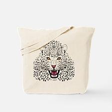 Fierce Leopard Tote Bag