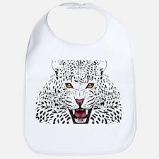 Fierce Leopard Bib