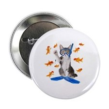 "Cute Cats 2.25"" Button"