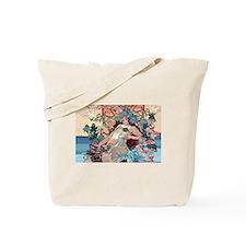 Mucha Autumn Grapes Tote Bag