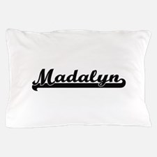 Madalyn Classic Retro Name Design Pillow Case